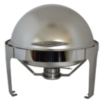 Roll Top Chafing Dish Round